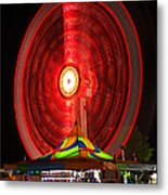 Wheel In The Sky Metal Print by Gordon Dean II
