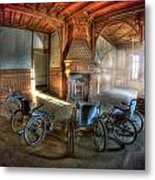 Wheel Up The Four Metal Print