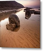 Wheels Of Fortune Metal Print