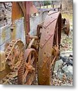 Wheels Through Time Metal Print