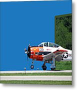 Wheels Up Metal Print