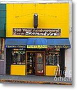 Whelans Smoke Shop On Bancroft Way In Berkeley California  . 7d10168 Metal Print