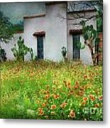 When A House Is A Home Metal Print