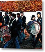 When Johnny Comes Marching Home Metal Print
