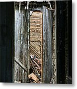 When One Door Closes Metal Print by JC Findley