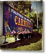 When The Carnival Comes To Town Metal Print