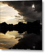 When The Days End Meets The Nights Storm  Metal Print