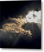 When The Night Has Come Metal Print