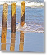 When The Tide Comes In Metal Print