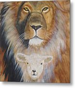 Where Love And Compassion Rule Metal Print