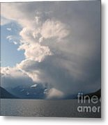 Whirling Storm Metal Print