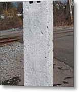 Whistle Post Metal Print