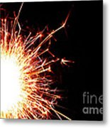 White Center Metal Print