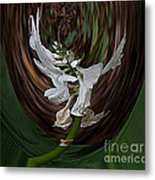 White Flight Metal Print