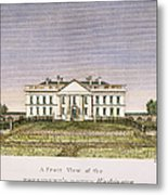 White House, D.c., 1820 Metal Print