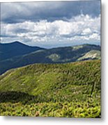 White Mountains New Hampshire Panorama Metal Print by Stephanie McDowell