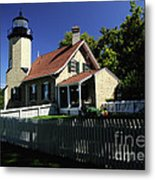 White River Light Metal Print