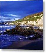 White Rocks Strand, County Antrim Metal Print