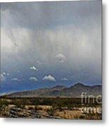 White Tank Mountains Metal Print