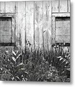 White Windows Metal Print