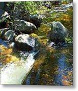 White Wolf Creek Metal Print