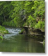 Whitewater River Spring 5 B Metal Print