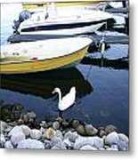 Who Says I Am Not A Boat I Do Float Metal Print