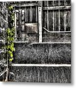 Who'll Stop The Rain Metal Print by Dan Crosby
