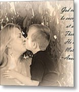 Why He Made Mothers Metal Print