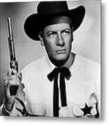 Wichita, Joel Mccrea, 1955 Metal Print by Everett