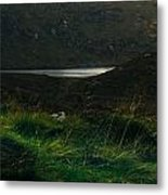 Wicklow Mountains And Lake Metal Print