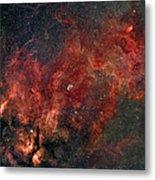 Widefield View Of He Crescent Nebula Metal Print