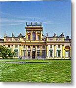 Wilanow Palace - Warsaw Poland Metal Print