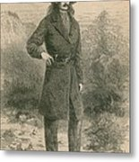 Wild Bill Hickok 1837-1876, Portrait Metal Print by Everett