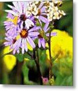 Wild Floral Metal Print