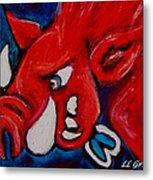 Wild Hog Metal Print