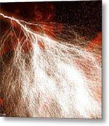 Wild Lightning  Metal Print