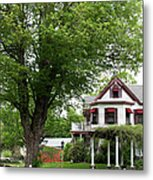 Wild Rose Inn Woodstock Metal Print