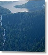 Wilderness Waterfall Metal Print