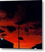 Wildwood Sunset Metal Print