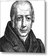 Wilhelm Von Humboldt Metal Print