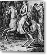 Wilhelmina Of Prussia Metal Print