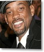 Will Smith At Arrivals For The Day The Metal Print by Everett