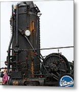 Willamette Steam Engine 7d15105 Metal Print by Wingsdomain Art and Photography