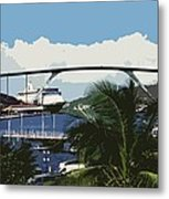 Willemstad - Curacao Metal Print