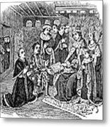 William Caxton (c1421-1491) Metal Print