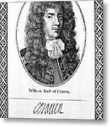 William Craven (1608-1697) Metal Print