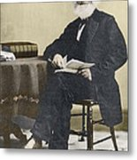 William Cullen Bryant, American Poet Metal Print by Science Source