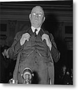William Green 1873-1952, President Metal Print