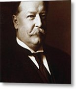William Howard Taft - President Of The United States Metal Print by International  Images